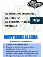 Diapositivas de Derecho Tributario II semana 01