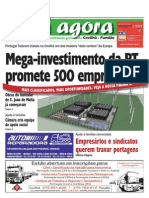 Já Agora, o jornal gratuito da Covilhã e Fundão, nº 88