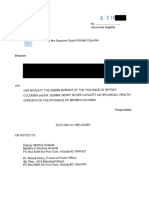 2020 01 07 Filed Petition for Judicial Review