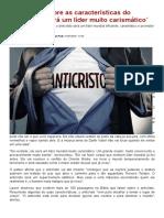 Pastor fala sobre as características do anticristo_ `Será um líder muito carismático´ - CPADNews