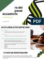 ESTRUCTURA DEL PROCESO PENAL
