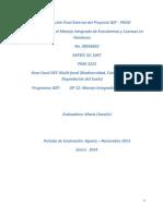 Evaluacion Final GEF Ecosistemas