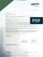 Bcp Carta fianza