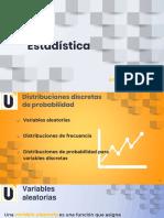 S1 Distribuciones de probabilidad para variables aleatorias discretas
