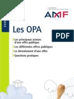 Reglement OPA AMF