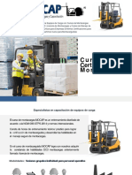 Cursos de Montacargas DC3 Licencia  STPS.pdf
