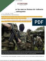 2019-12-31 Incertidumbre por las nuevas formas de violencia en el Bajo Cauca antioqueño