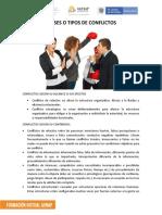 4. TIPOS Y ETAPAS DE CONFLICTOS