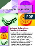 Conceptul de jurnalism