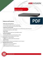Datasheet of DS-7600NI-E1&E2_P Series NVR 3.4.9 20170901