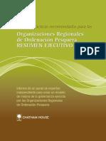 Resumen ejecutivo ordenacion pesquera 2007