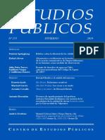 Revista Estudios Publicos 155