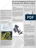 Poster, Preliminary Results of the Geophysical