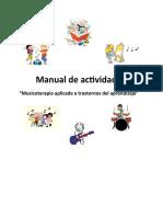Manual de Actividades