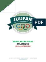 00. ATLETISMO - Resultado Final - XIII JUUFAM 2019.pdf