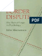 A Border Dispute The Place of Logic in Psychology    1986