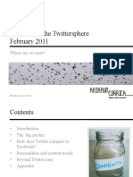 The state of the Twittersphere, February 2011