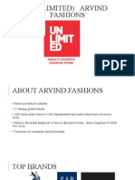 Arvind Fashions (Unlimited)
