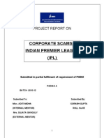 PROJECT REPORT ON ipl