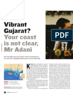 VibrantGujarat Your Coast is Not Clear Mr Adani