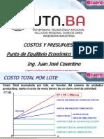 09. Punto de Equilibrio Económico y Financiero