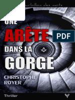 EXTRAIT du roman « Une Arête dans la gorge » de Christophe Royer