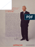 Hitachi企業広告