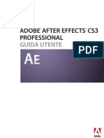 Guida Di Adobe After Effects Cs3