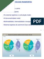 gestão transportes TAI Redes Logísticas II