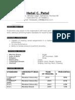 Dharmesh resume