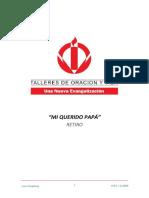 3.0 RETIRO MI QUERIDO PAPA - TERCER DIA