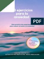 80 ejercicios para la ansiedad_ Guía práctica de experiencias para reducir el estrés y la ansiedad