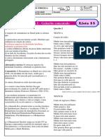 monitoria - lista 13 - gabarito
