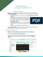 01- Instructivo - Requisitos y Prueba Del Equipo Informático