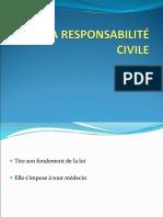 La résponsabilité civile