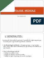8. Déontologie médicale