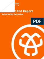 2019 Year End Vulnerability QuickView Report