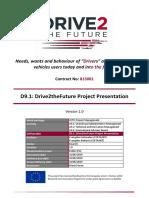D9.1 Project Presentation