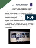 ȘEDINȚĂ DE LUCRU CU PARTENERII DE PROIECT DIN MOLDOVA ÎN CADRUL PROIECTULUI EDUCATIONAL FOR DRONE (eDRONE)