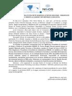 CONSOLIDAREA CAPACITĂȚILOR ÎN DOMENIUL ȘTIINȚEI DESCHISE - PRIORITATE PENTRU MEDIUL ACADEMIC DIN REPUBLICA MOLDOVA