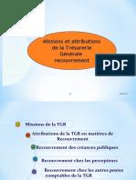 ATTRIBUTIONS DE LA TGR EN MATIERE DE RECOUVREMENT 11 Nov 2019.ppt