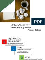 CUALIDADES, PROCESO Y COHESIÓN