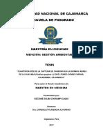 """""""CUANTIFICACIÓN DE LA CAPTURA DE CARBONO EN LA BIOMASA AÉREA DE LA GUAYABA (PSIDIUM GUAJAVA L.) E"""