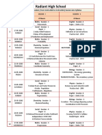 TS & ETS 10th Class Revision Schedule ( From 16.05.2020 to 31.05.2020 ) Session wise Syllabus
