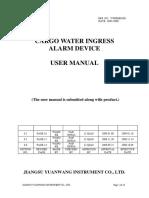 CH water ingress alarm device
