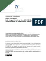 Bedeutung und Inhalt der Norm DIN 4020 Geotechnische Untersuchungen für bautechnische Zwecke