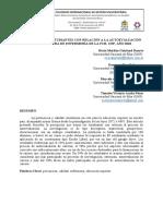 PERCEPCIÓN DE ESTUDIANTES CON RELACIÓN A LA AUTOEVALUACIÓN