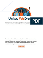 UWDA - SIGN the PETITION Do Not Deny Vaccines to Undocumented Workers