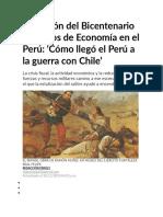 Colección del Bicentenario 200 años de Economía en el Perú
