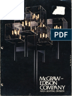 McGraw-Edison Area Lighting Division Product Catalog 1972